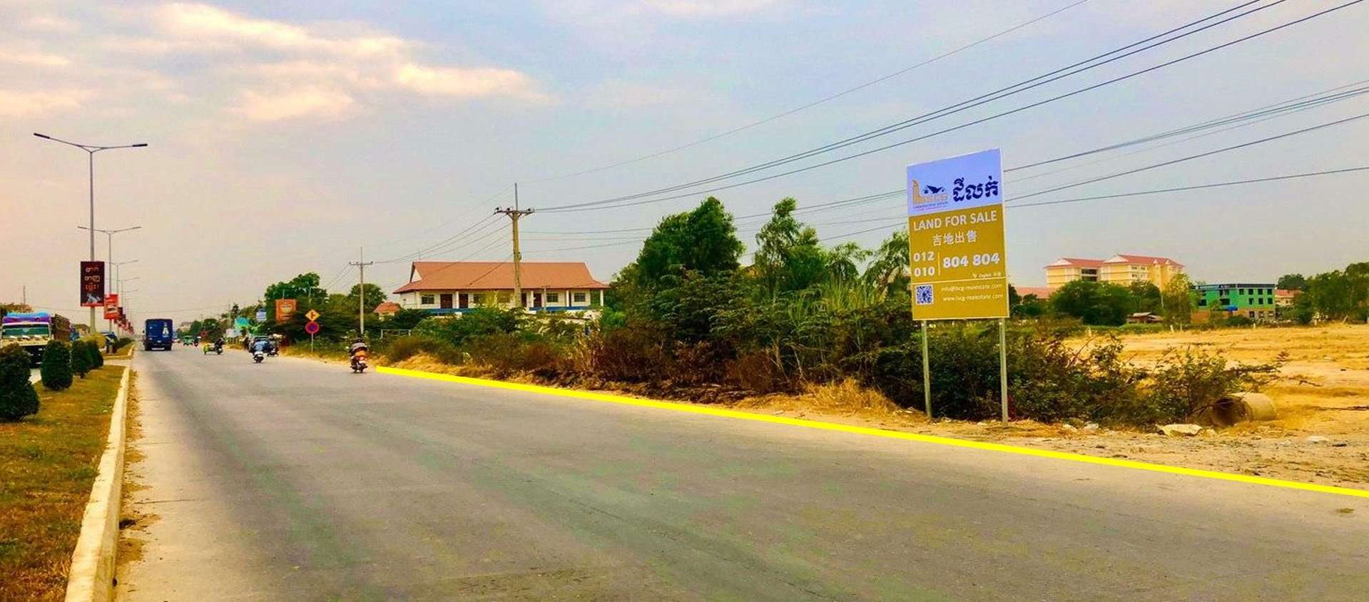 Sale Residential land Dangkao
