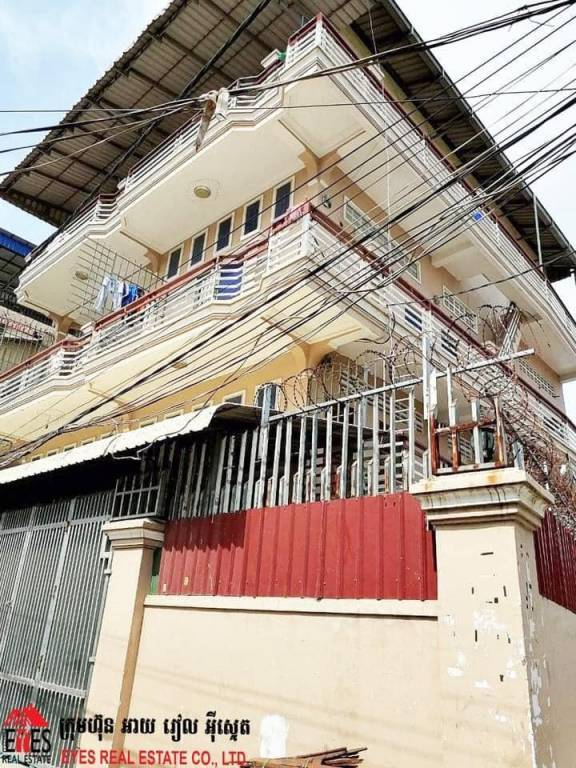 House for Sale At Village of Trea II, Commune of Stoeng Meanchey, District of Meanchey, Capital City of Cambodia.