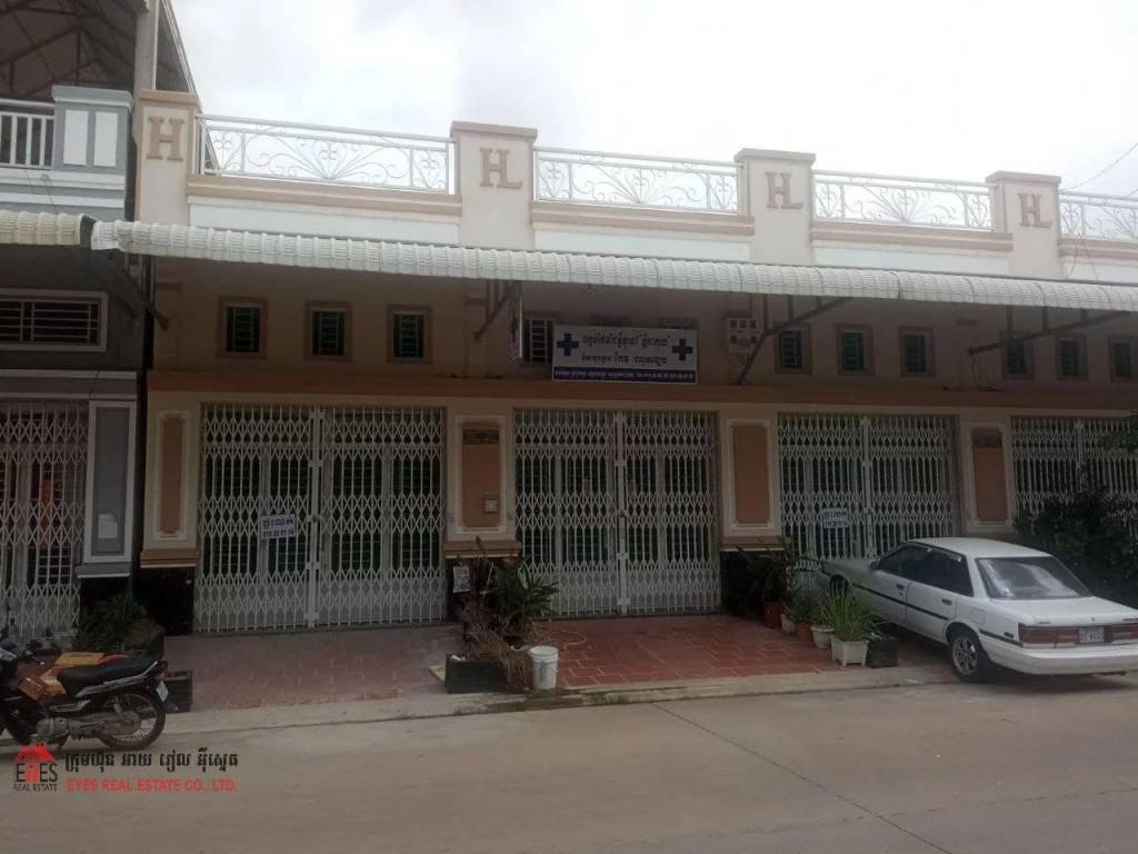 Flat for sale in Borey Veal Sbov