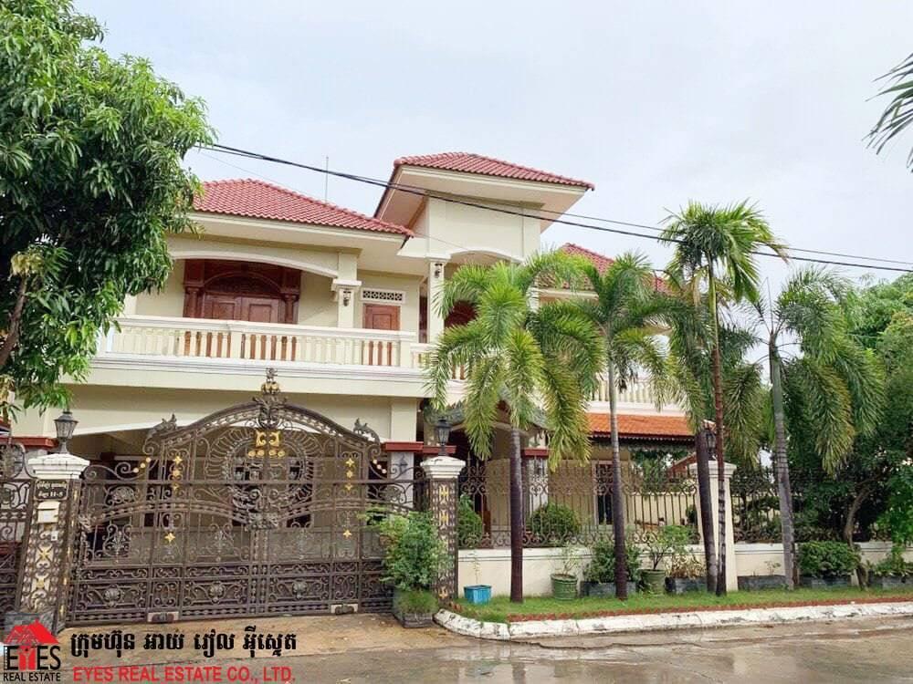 House_For_Rent at  Borey Villa Toul Songke