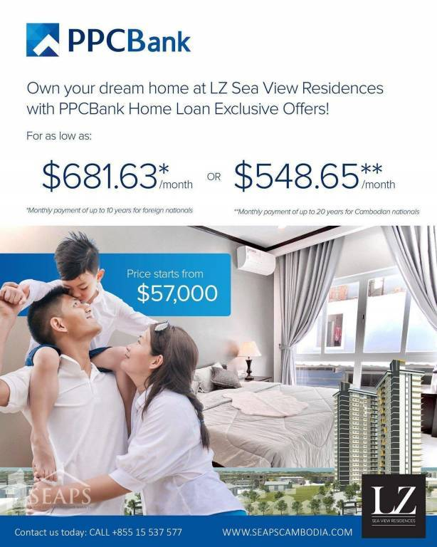 LZ SEA VIEW RESIDENCES IN SIHANOUKVILLE