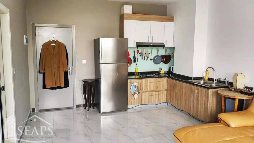 Modern 1 Bedroom Open Plan Studio Apartment For Sale.