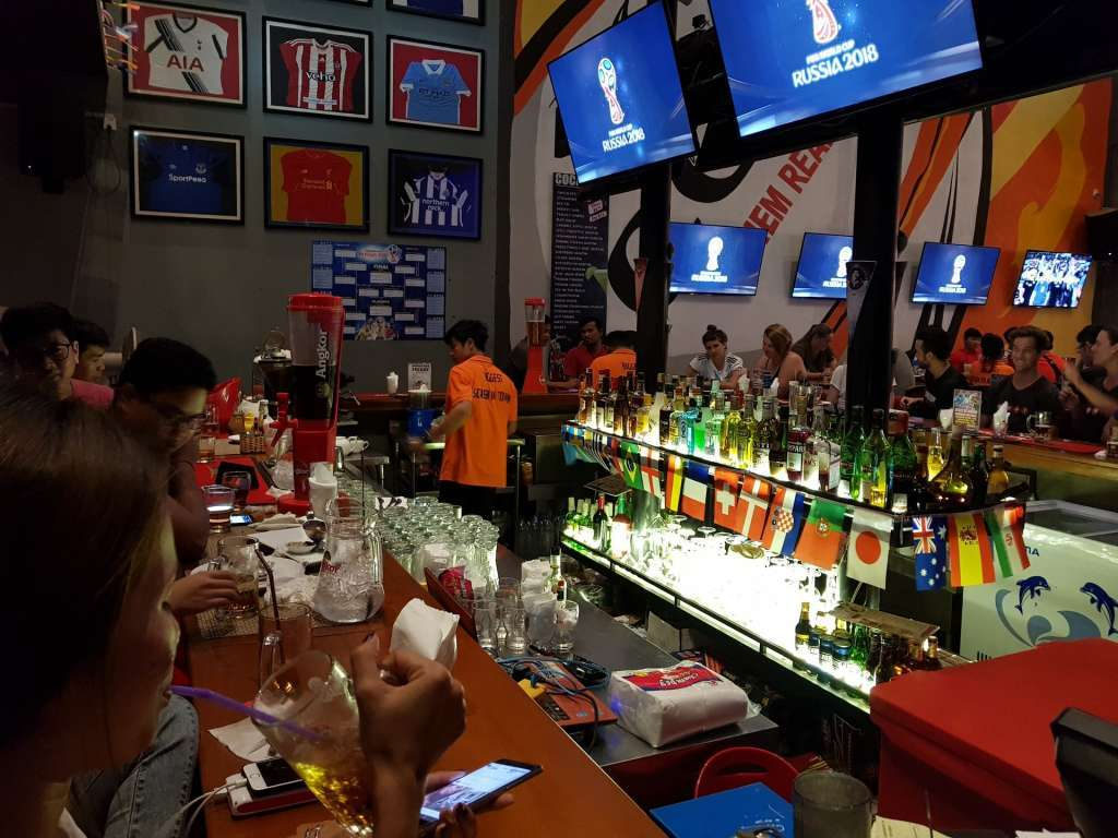 Profitable Large Sports Bar and Restaurant in Siem Reap For Sale
