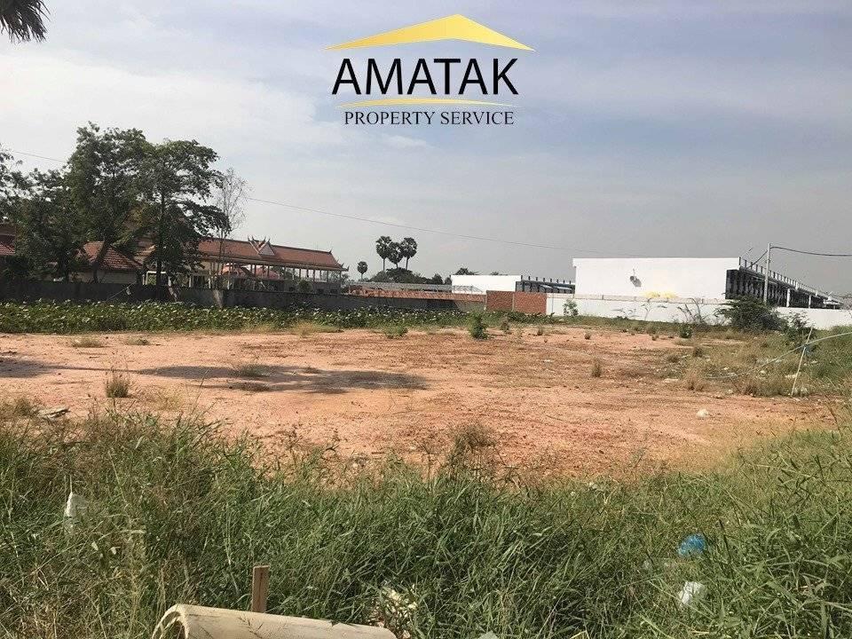 Sale Commercial land Dangkao Prey Sa