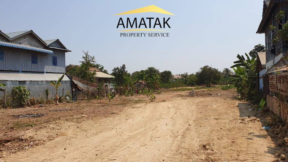 Land for sale in an upcoming area on Concrete road